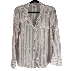 Victoria's Secret Button Down Sleep-shirt